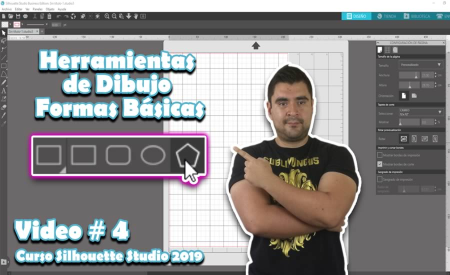 Herramientas de Dibujo o Formas Basicas Silhouette Studio 4.2 Tutorial 3.jpg