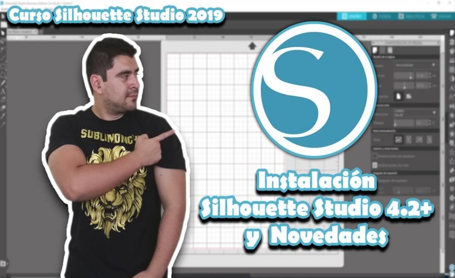 Instalacion Silhouette Studio 4.2 y Novedades