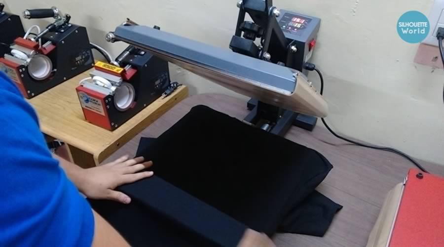 playera de algodon para vinil textil