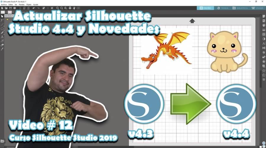 ACTUALIZAR a SILHOUETTE STUDIO 4.4
