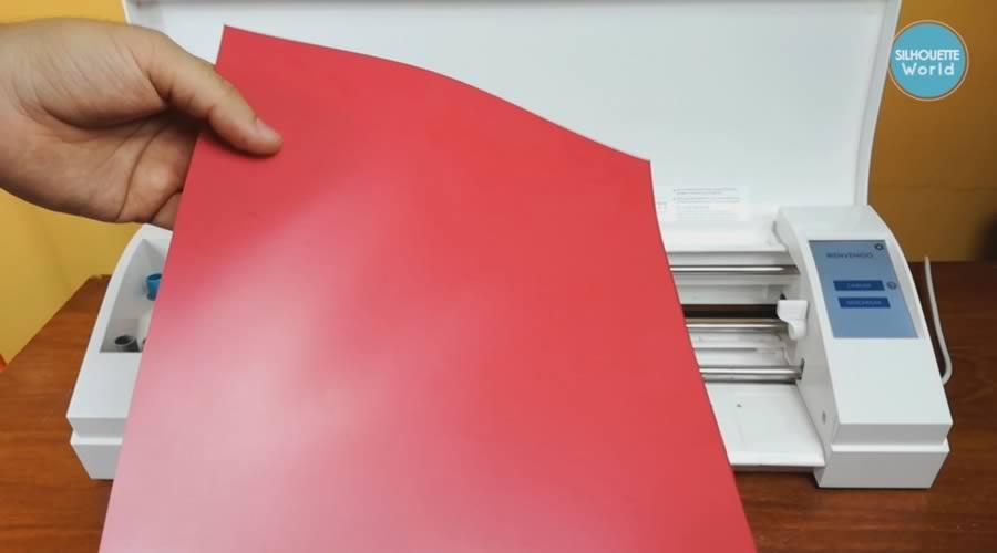 Colocación y Uso de Materiales sin el Tapete De Corte