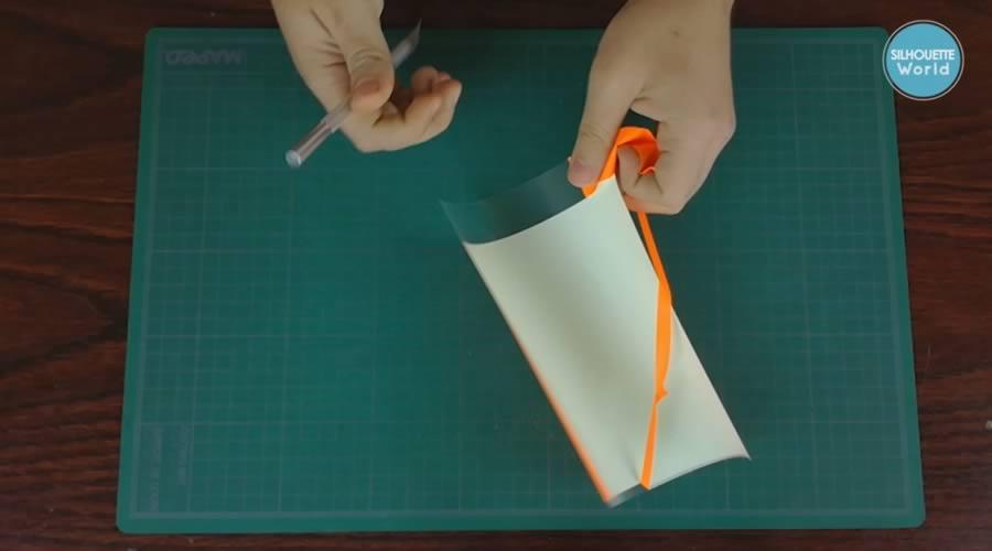 recuadro delimitador vinil textil de detalle