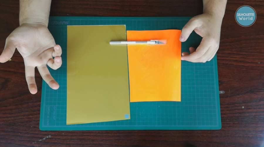 uso del cutter para depilar vinil textil