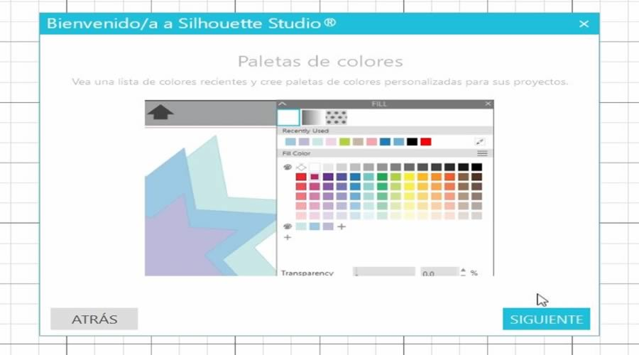 nueva paleta de colores